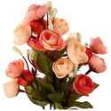 Hyperboles Artificial Spring Silk Camellia Magnolia Flowers Bunch