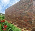 Red Natural Stone Copper Slate Wall Panel