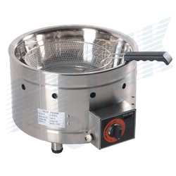 Gas Fryer With Round Basket