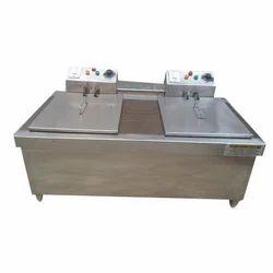 Deep Fryer Electric Double Unit