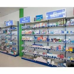 Pharmacy racks