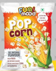 Butter and Red Chilli Popcorn, 1.5 Kg(approx.) Per Cartoon, 72 Pieces