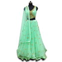 CROPTOP LEHENGA WITH DUPATTA PARTY WEAR FESTIVE WEAR WEDDING WEAR