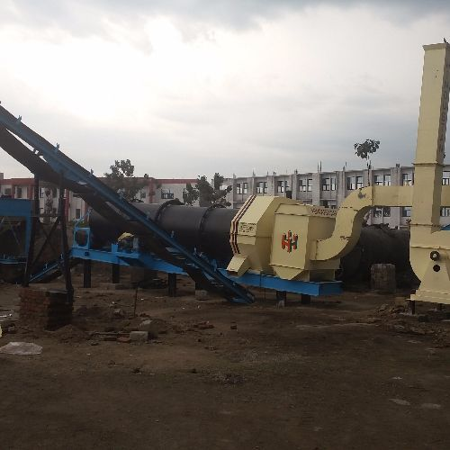 Stationary Drum Mixing Plant