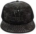 Black Acrylic Hip Hop Cap