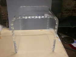 Acrylic U Bend Table