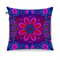 Sparkling Flower Motif Cushion Cover