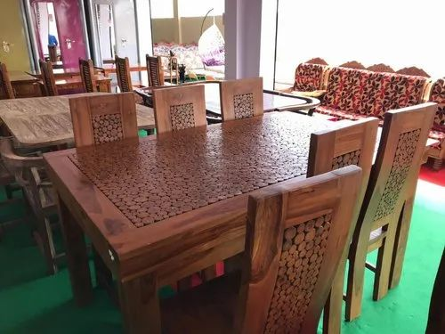 Wood Finish Imported Indonesian Teak Dining Set Furniture Rs 70000