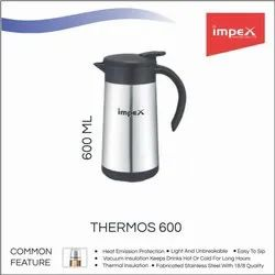 Stainless Steel Thermosteel Vaccum Flask - Thermos 600