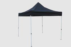 Quick Foldable Gazebo Tent - 10'x10' - Black