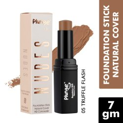 O3  Plunge Foundation Stick Concealer for Touch Up, Contouring and Even Skin (Truffle Flash, 7 GM)