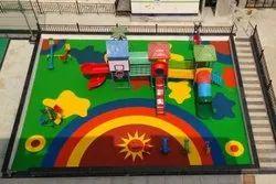 EPDM Rubber Kids Playground Flooring