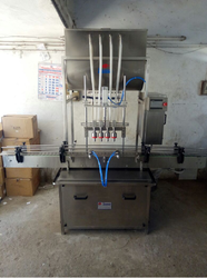 Automatic Gravity Liquid Filling Machine