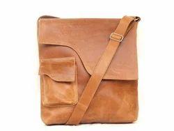 P.B.F Men Tikat Leather Side Bag For Office