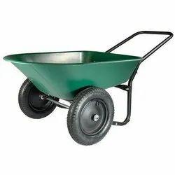Hand Double Wheel Barrow Trolley