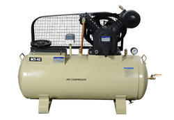 TWO STAGE BELT DRIVEN AIR COMPRESSOR