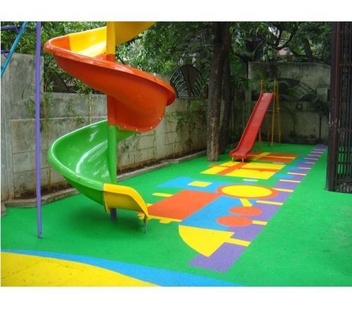 Outdoor Play Area Rubber Flooring At Rs