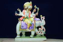 Manibhadra Statues