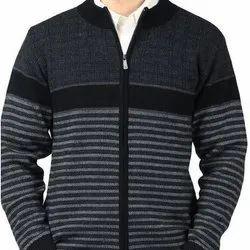 Woolen Zip Pullover