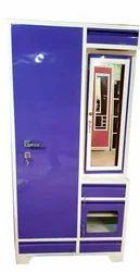 Steel Single Door Dressing Almirah, Height: 6.5 feet