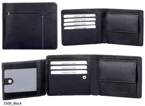 Genuine Leather Credit Card Mens Wallet (2508)
