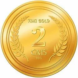 Custom Gold Coin 2gm