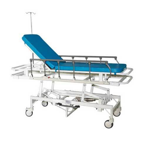 Meelan White Emergency Recovery Trolley Stretcher