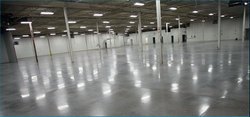 Concrete Floor Densification And Polishing System