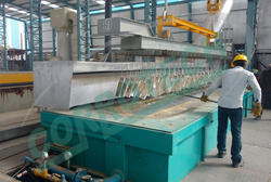Semi Automatic Galvanizing Furnace