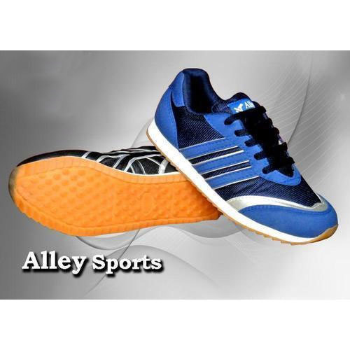 Alley Lace-Up Blue Running Shoes, South