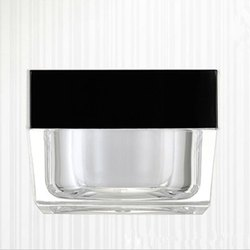 50 gm Square Acrylic Jar