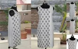 Regular Wear Printed Cotton Tops / Kurtis