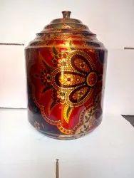 Copper Printed Pot
