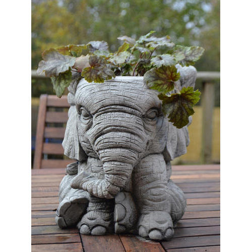Elephant Pot Stone Garden Planter