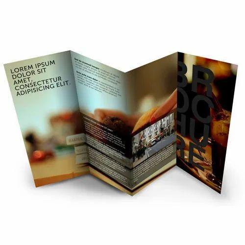 Text Printing Paper Brochure Printing Service