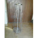 Stainless Steel Revolving Magazine Stand