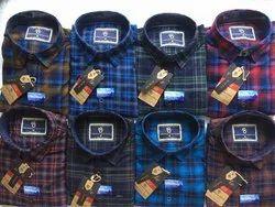 Eighteen Plus Cotton/Linen Mens Stylish Formal Shirt