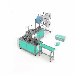 Fully Automatic Face Mask Making Machine with Ear Loop Welding Machine