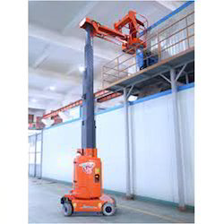Battery Operated Aerial Mast Boom Lift