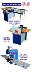 PAPER BAG MAKING COMBO MACHINE