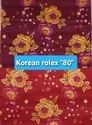 Korean Rolex ''80'' Printed knitted Fabric