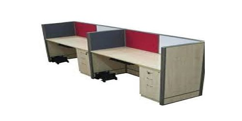 Wood Office Workstation, For Corporate Offices