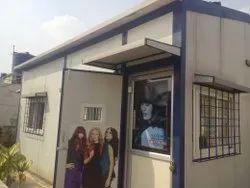 Prefab Beauty Parlor In Terrace Area- Puf Make