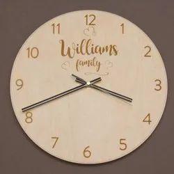 Customized Wedding Wall Clock