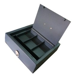 Steel Cash Box, Box Capacity: 6-10 Kg