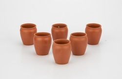 Clay Glass Set(6 Piece) 100ml