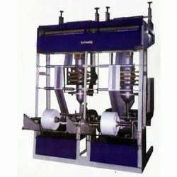 Double Die Plastic Extruder Machine