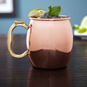 Mirror Finish Copper Moscow Mule Mugs