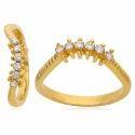 黄金钻石戒指