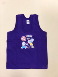 Baby Fancy Purple Cotton T Shirt